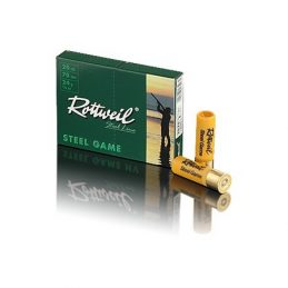 ROTTWEIL  Rottweil Steel Game - Acier Basse Pression 20/70 24 g